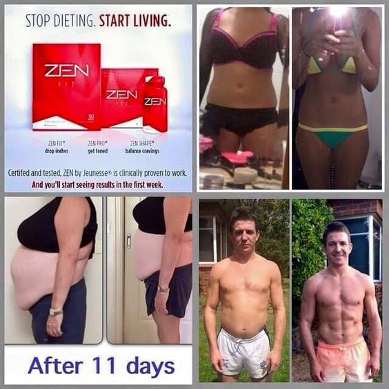 Для похудения, ZEN BODI, результаты применения, фото, до и после применения продукта. Picture.